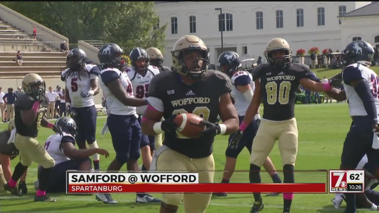Samford Hands Wofford Its First Loss, 24-21