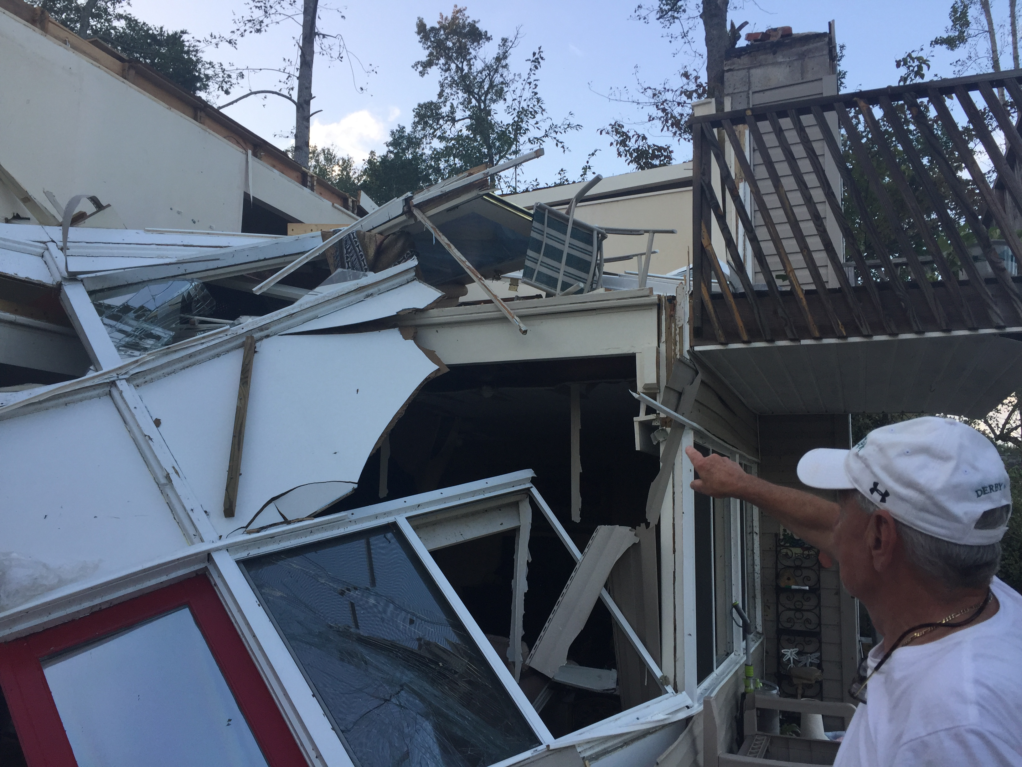 Homeowner talks EF-1 tornado hitting Lake Lanier