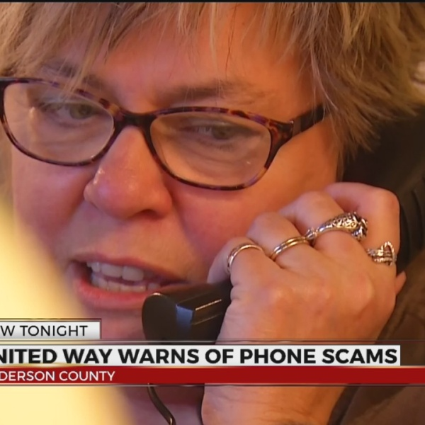 Fraud Alert: United Way of Anderson Co. warns of phone scam