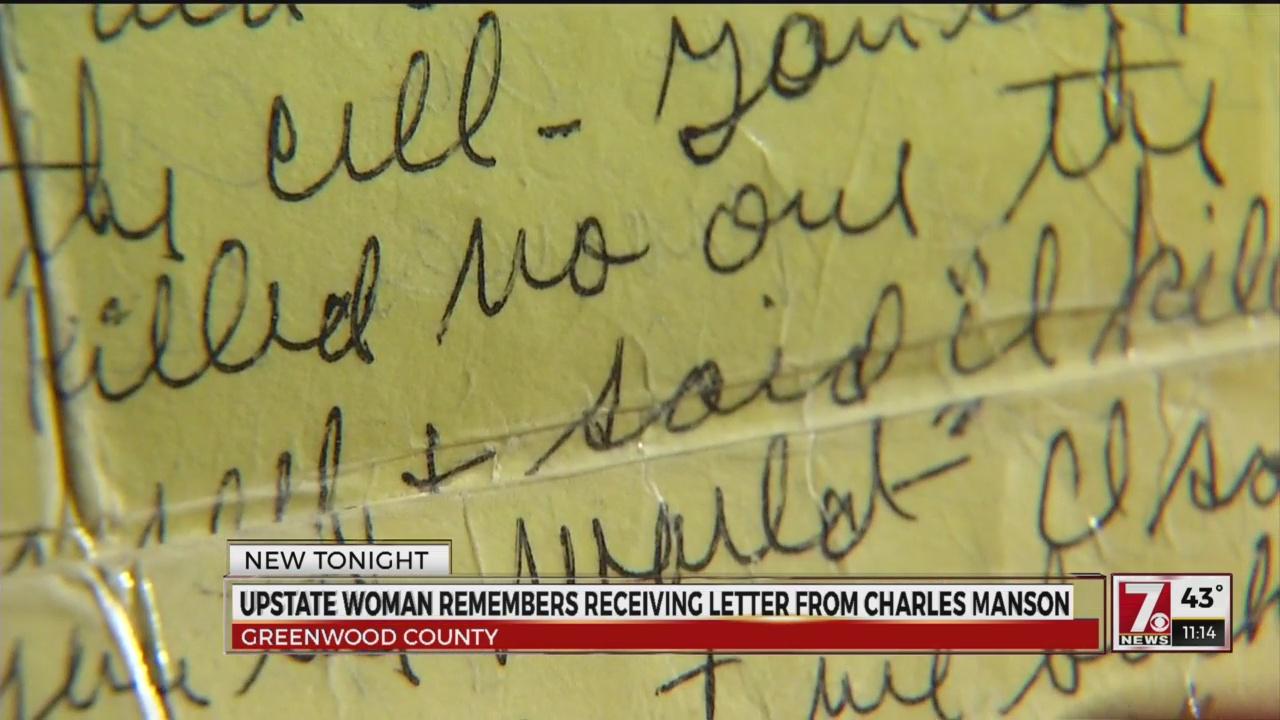 Charles Manson Letter_494481