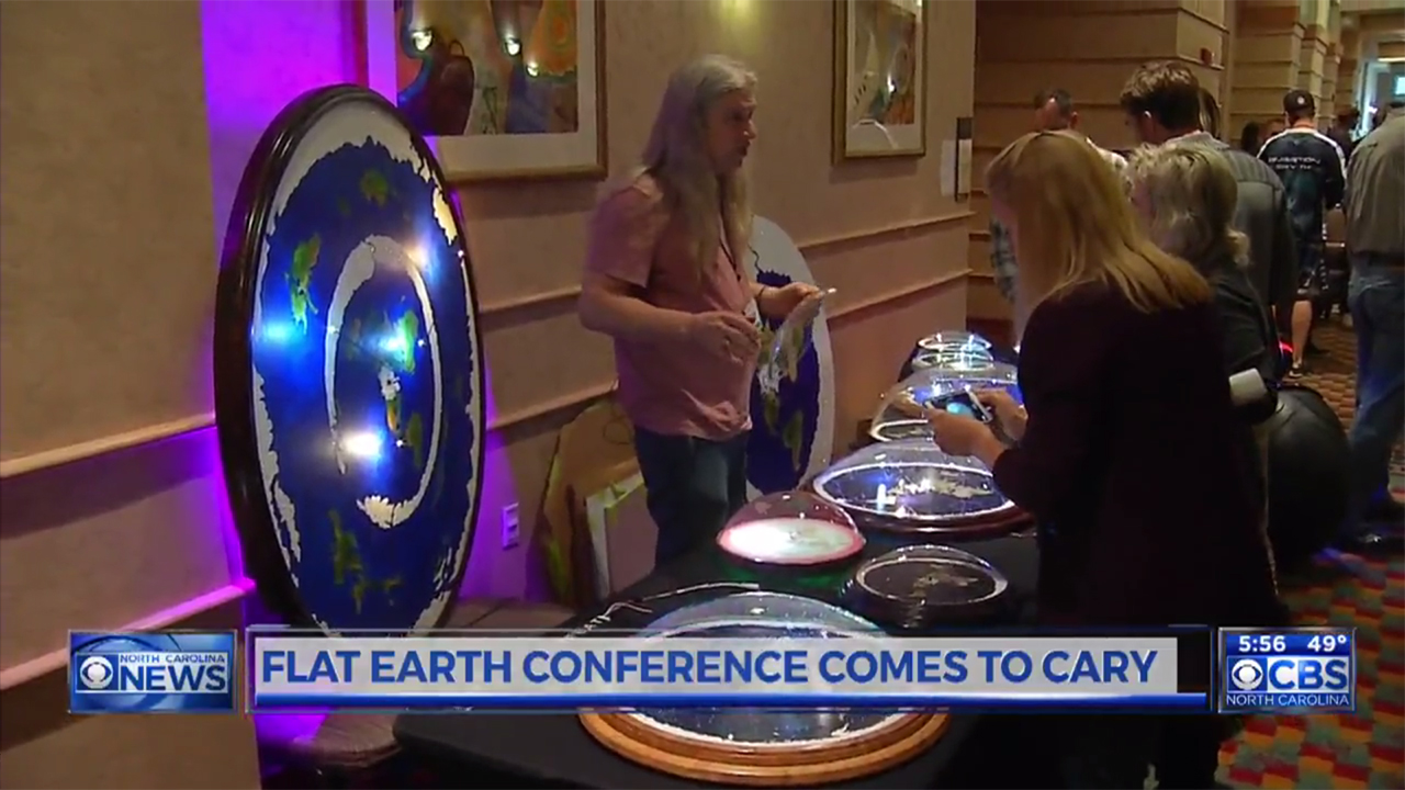 Flat Earthers From Around The World Descend Upon Nc For Convention