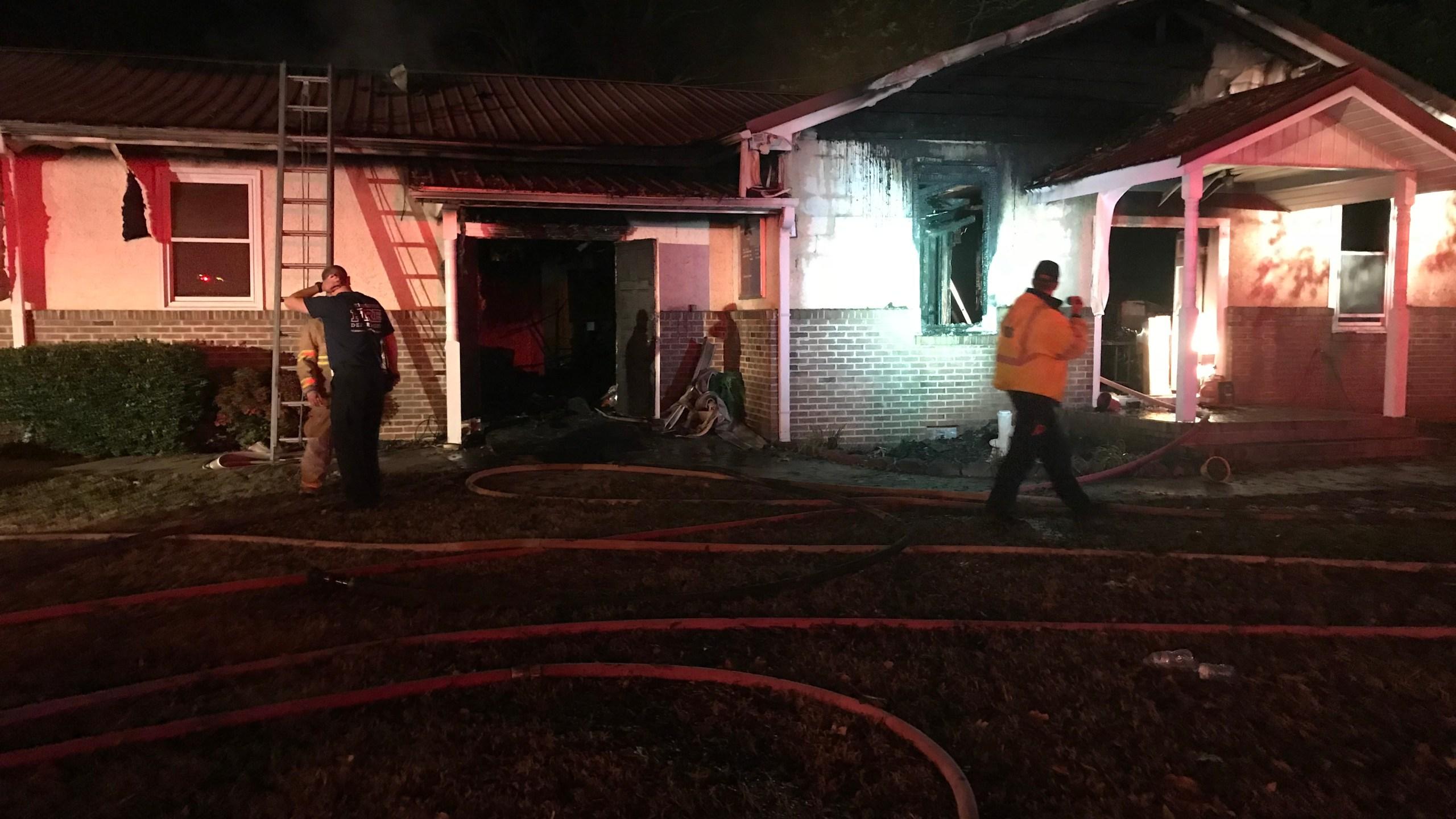 Power 4 Living Church fire Greenville County_499070