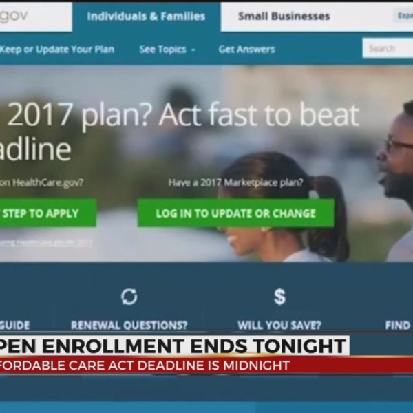 ACA Enrollment Deadline 12/15 at midnight
