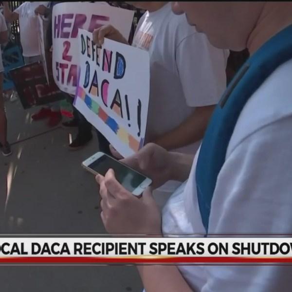 Shutdown impact on DACA