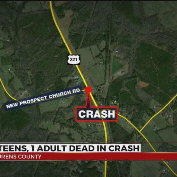 3 teens, 1 adult killed in crash