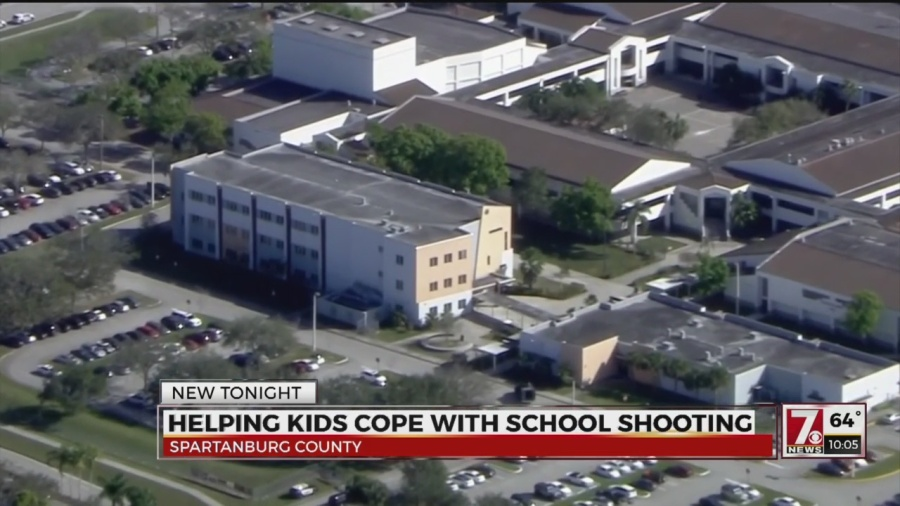 Expert advises parents on talking to kids about school shootings