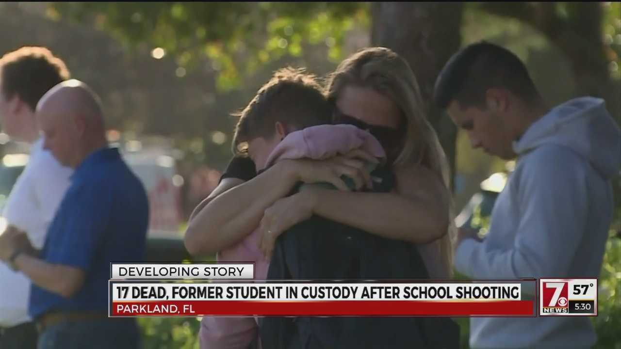 17 dead, former student in custody after school shooting