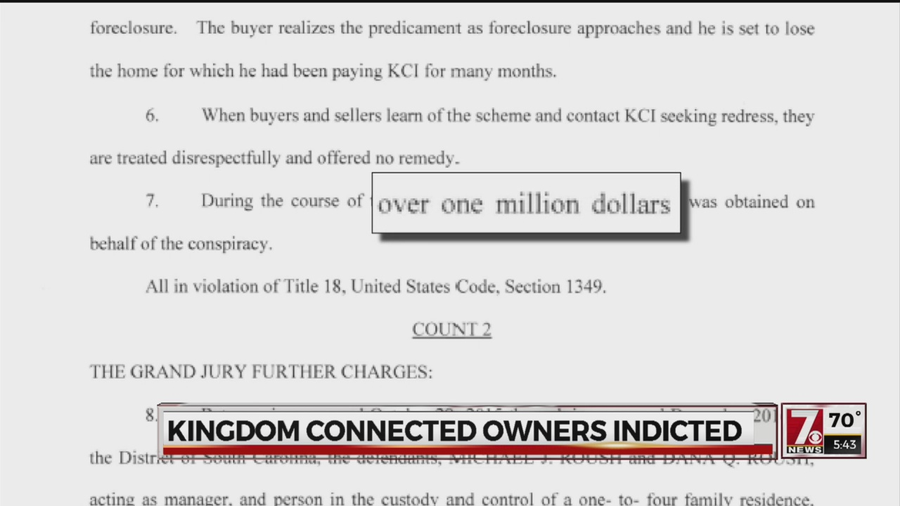 Kingdom Connected Investments owners indicted