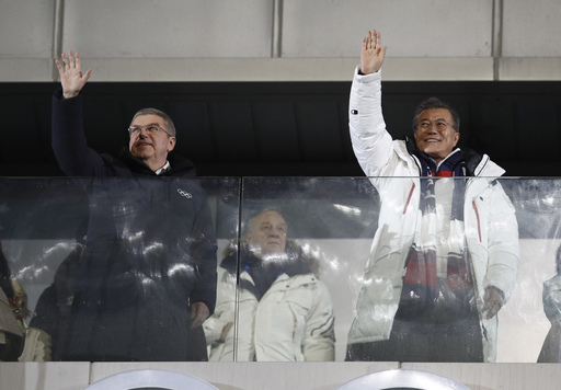 Pyeongchang Olympics Opening Ceremony_542300