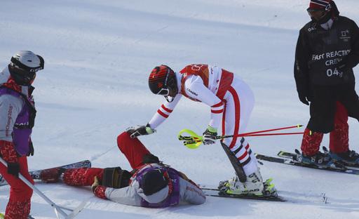 Pyeongchang Olympics Alpine Skiing_547288