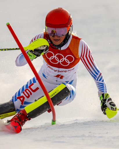 Pyeongchang Olympics Alpine Skiing_547058