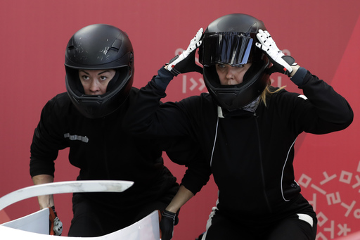 Pyeongchang Olympics Bobsleigh Women_552800