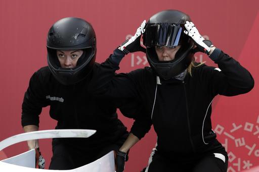 Pyeongchang Olympics Bobsleigh Women_552212