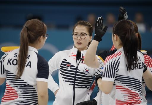Pyeongchang Olympics Curling Women_553608
