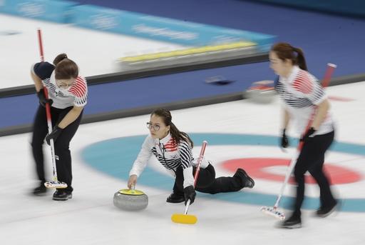 Pyeongchang Olympics Curling Women_553495