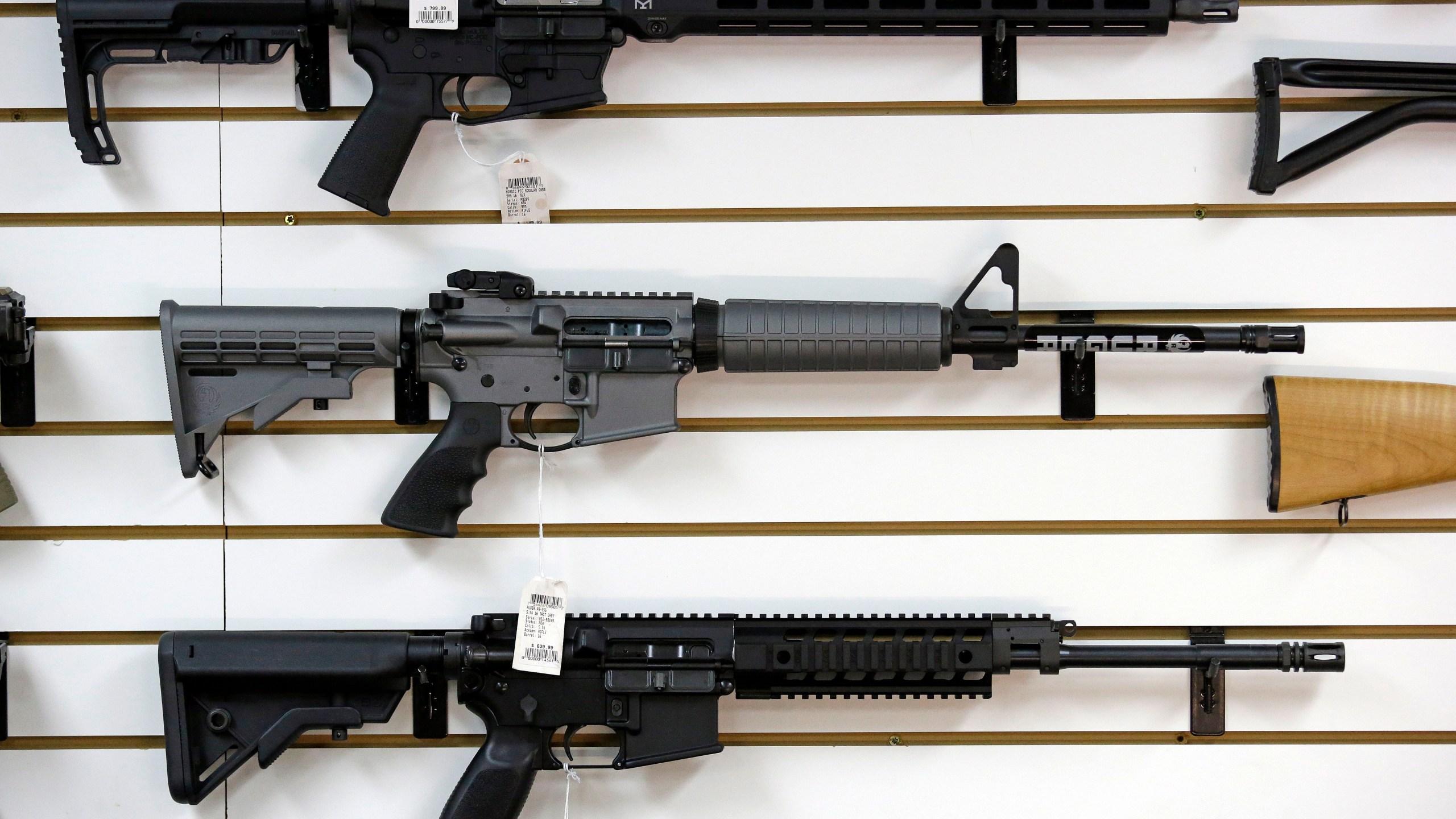 AR-15 rifle Shooting Gun Debate