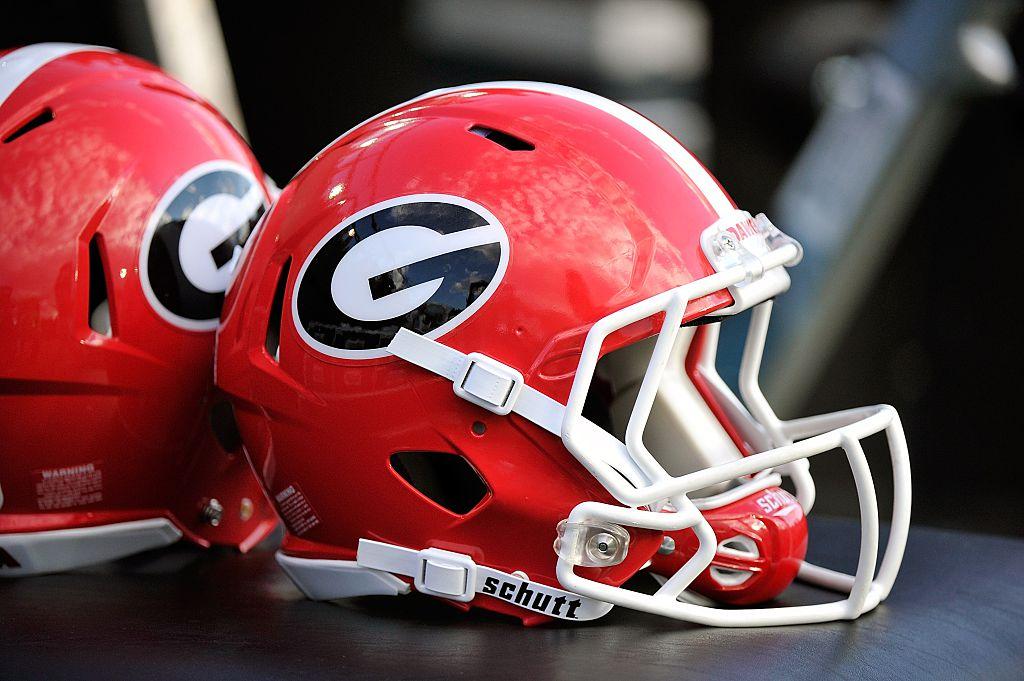 Georgia Bulldogs football helmet