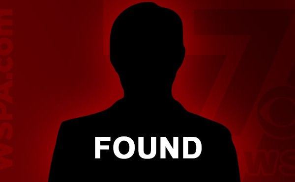 Missing person found generic