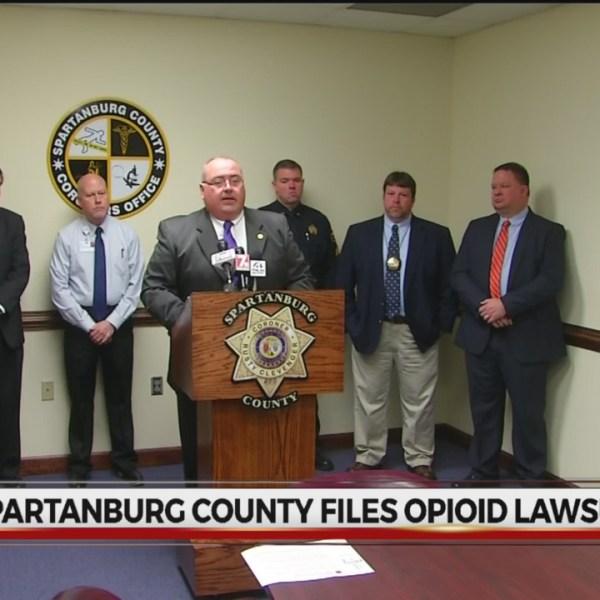 opioid lawsuit Spartanburg County