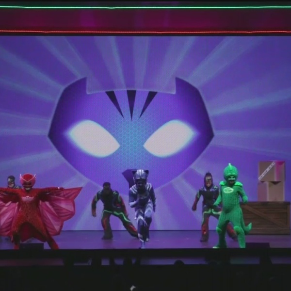 PJ Masks Live Kicking off Tour at Spartanburg Memorial Auditorium