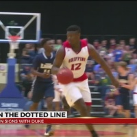 Zion Williamson Signs With Duke