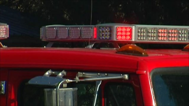 Driver killed during crash involving a firetruck in Buncombe Co.