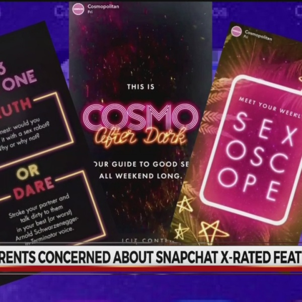 Snapchat's new Cosmo After Dark channel