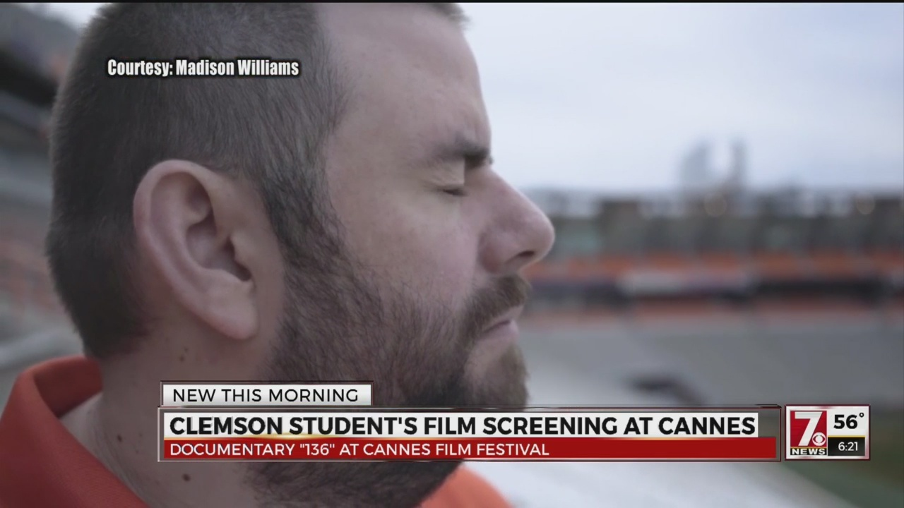 Clemson Student Screening Film at Cannes Film Festival