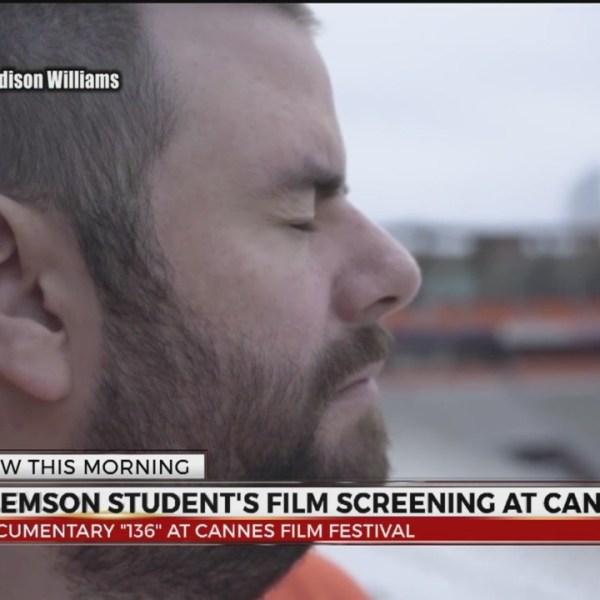Clemson Student Screening Film at Cannes Film Festival
