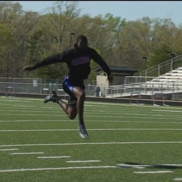 Liberty's King Take Triple Jump Skills To West Coast