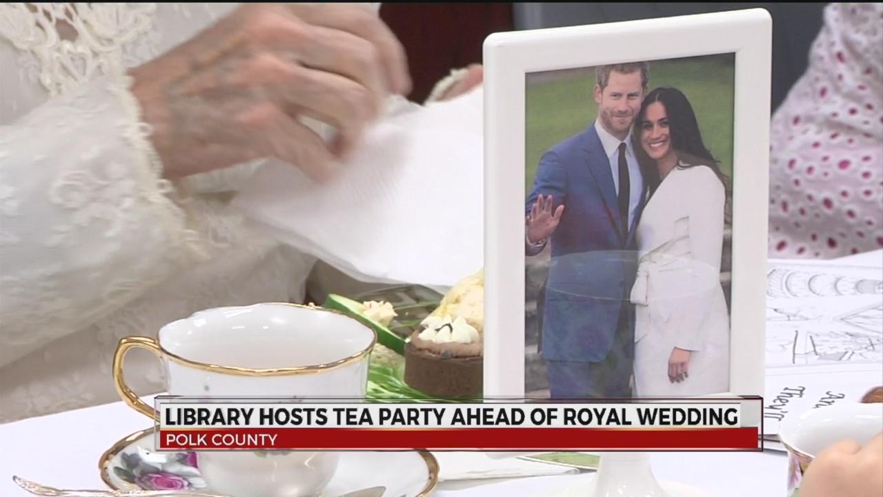 Royal Wedding Tea Party at Polk County Library