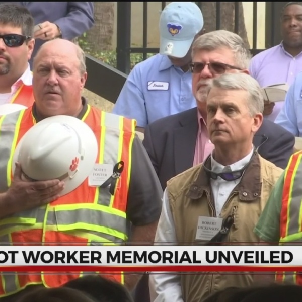 SCDOT workers honored in new memorial