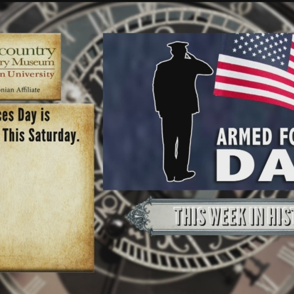 This Week in History - Armed Forces Day