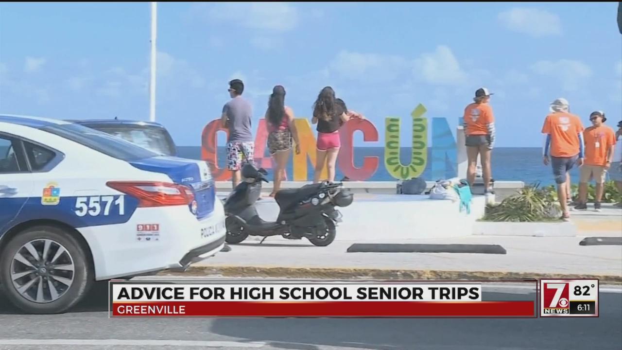 Staying safe on Senior Trip