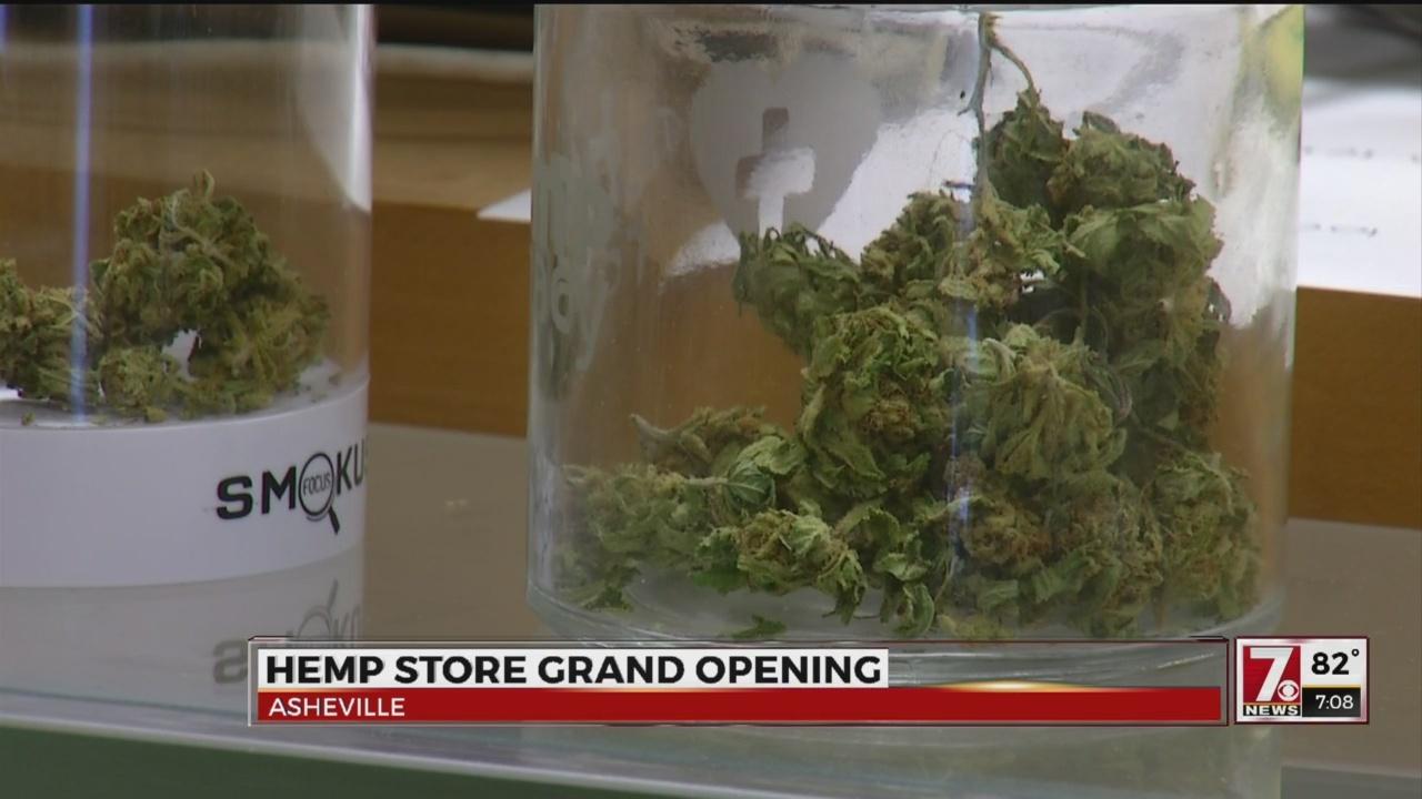 Hemp dispensary opens in Asheville