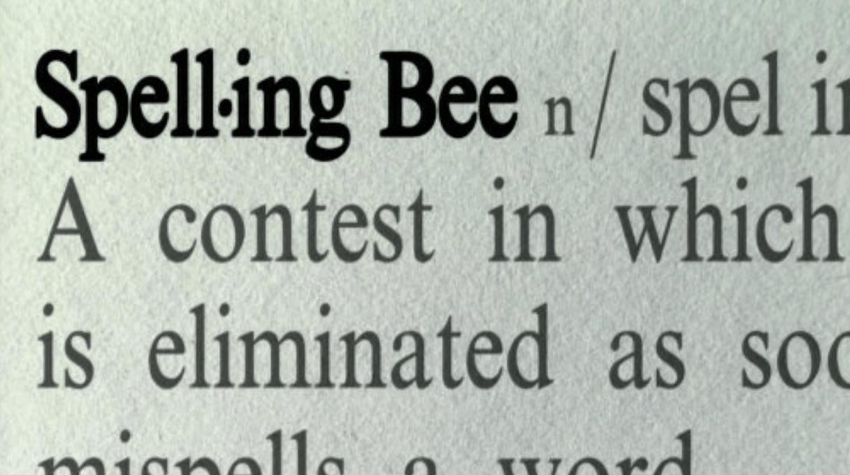 SPELLING BEE GENERIC