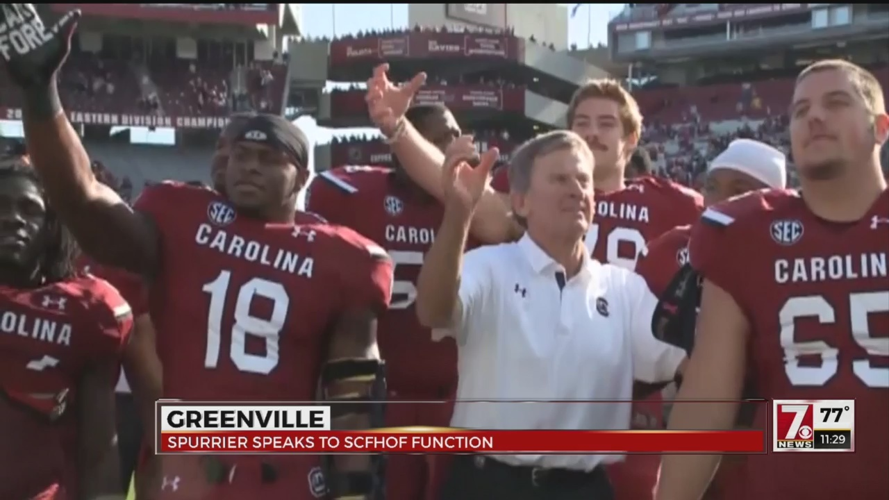 Spurrier Visits Area, Asked If He Misses College Coaching