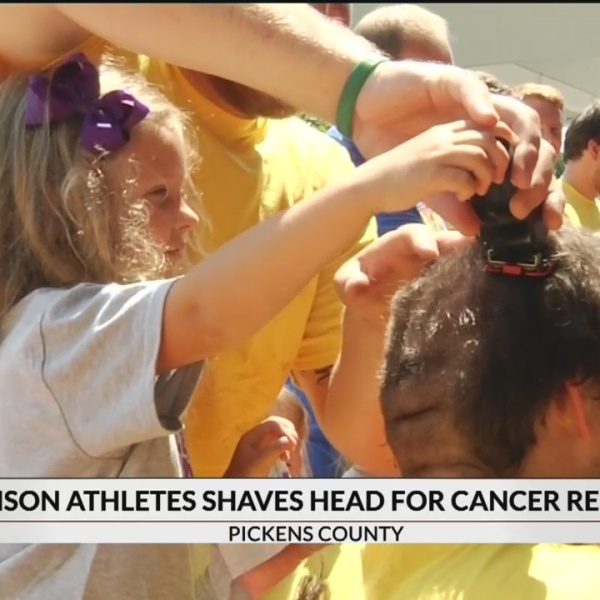Clemson Athletes Shave Heads for Children with Cancer