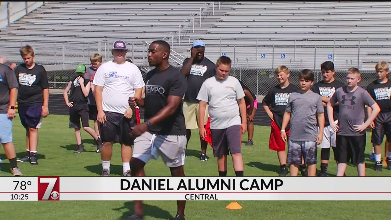 Lawson, Jenkins & Williams Return for 4th Annual Daniel Alumni Football Camp