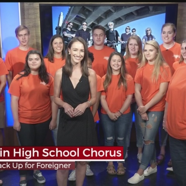 Mauldin High Choir Performing with Foreigner