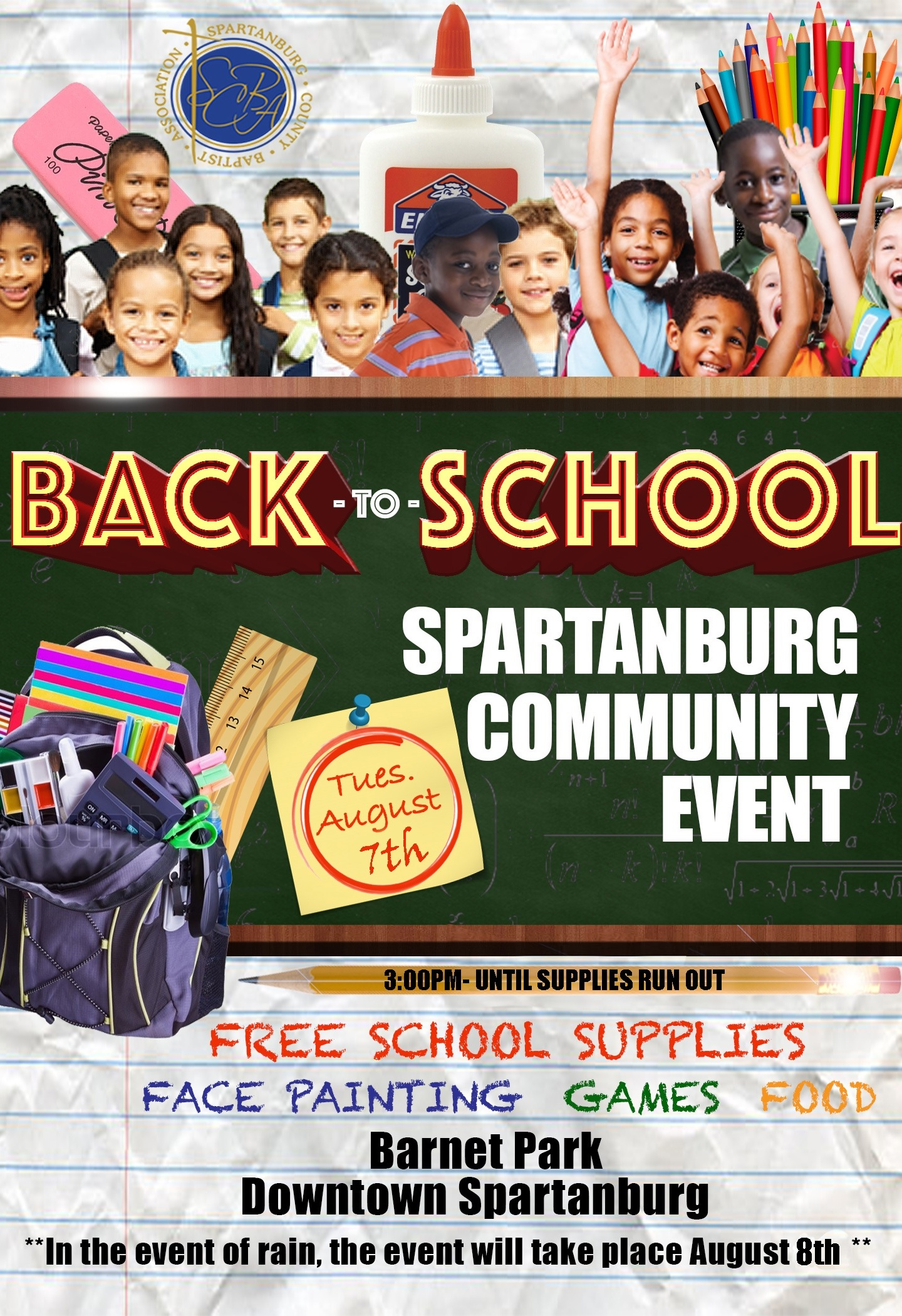 Back to School Spartanburg Community