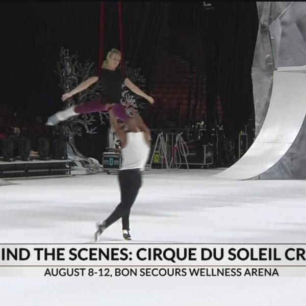 Behind the scenes of Cirque du Soleil's Crystal