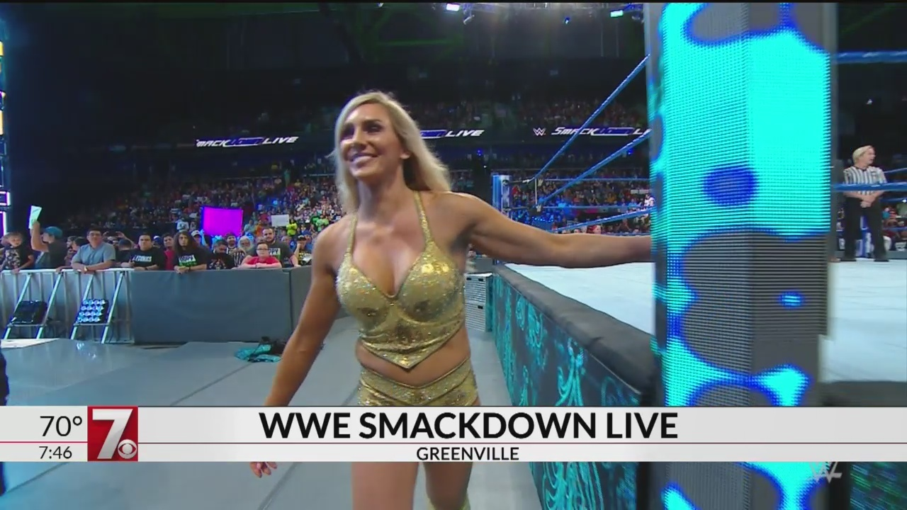 Charlotte Flair shares details about WWE Smackdown Show in Greenville