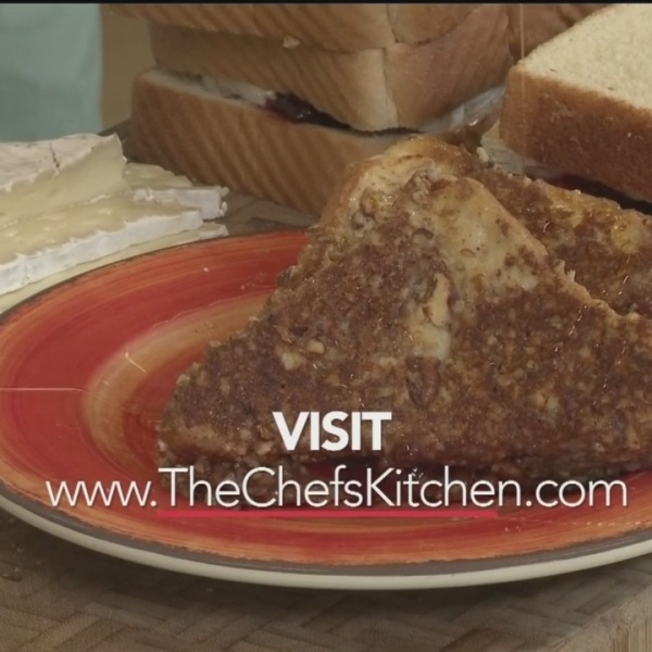 Chef's Kitchen - Raspberry Pecan & Brie French Toast