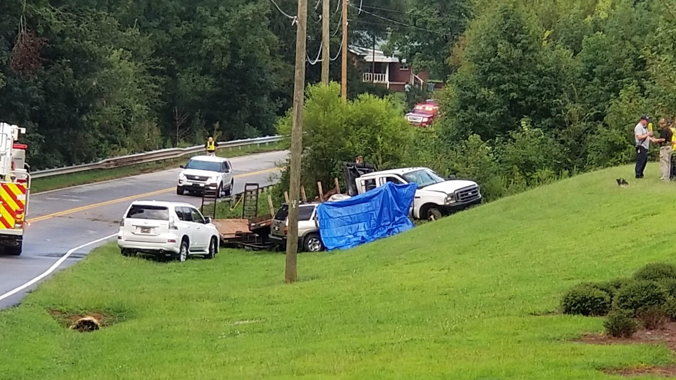 Fountain Inn woman killed, 1-year-old hurt in Simpsonville crash