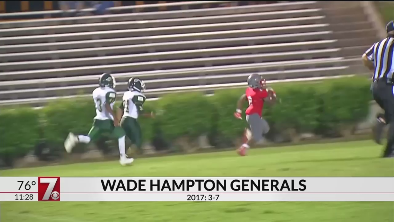 High School Red Zone: Wade Hampton Generals