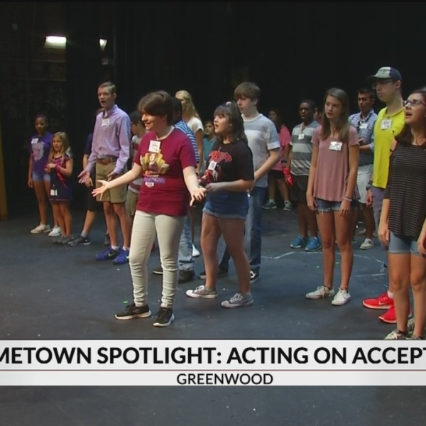 Hometown Spotlight Acting on Acceptance