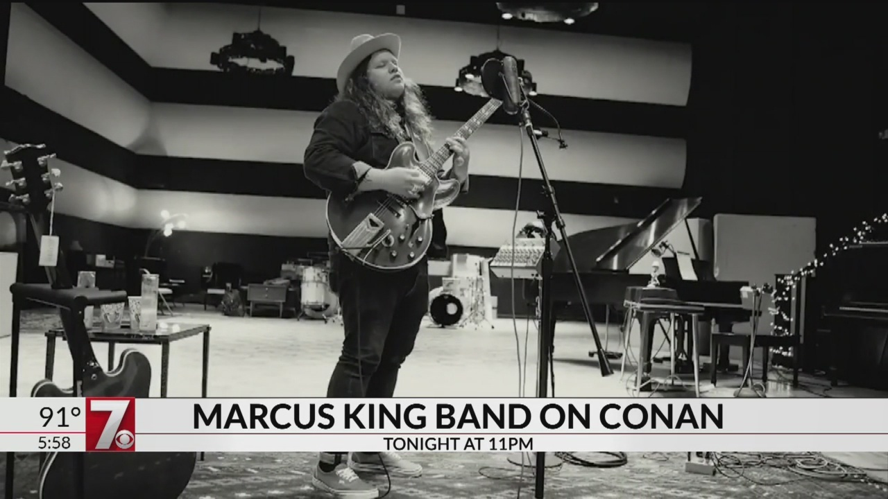 Marcus King Band Performs on Conan