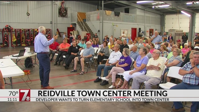 Reidville Town Halloween 2020 Proposed Reidville town center discussed at community meeting