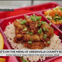 What's on the menu at Greenville County Schools